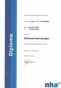 Uitvaartverzorging - Diploma Uitvaart